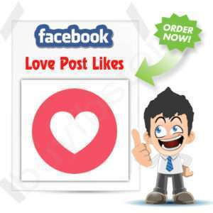 Buy Love Facebook Emoticons Post Likes