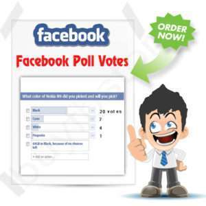 Buy Facebook Poll Vote