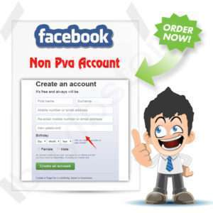 Buy Facebook Non PVA Account