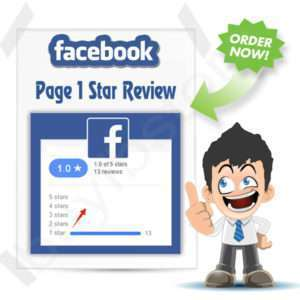 Buy 50 Facebook 1 Star Rating and Reviews