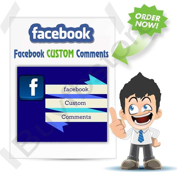 Buy Facebook CUSTOM Comments